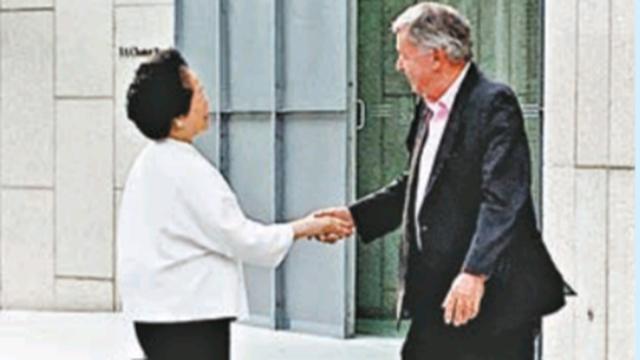 原形毕露!港媒曝陈方安生访德国领馆 公然要求欧盟介入香港
