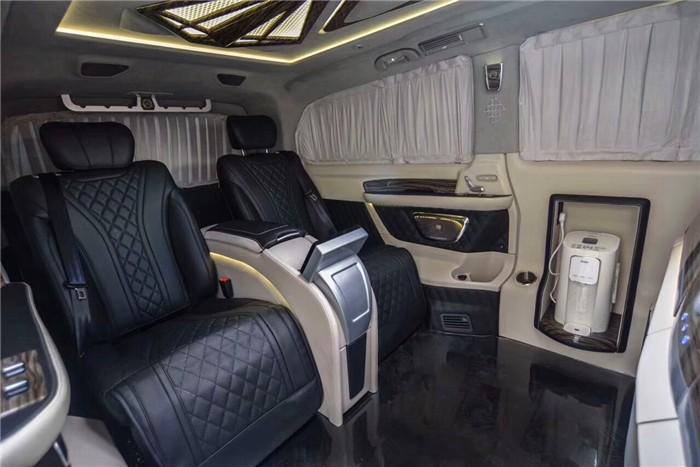 奔驰威霆改装高配四座版私人豪华头等舱