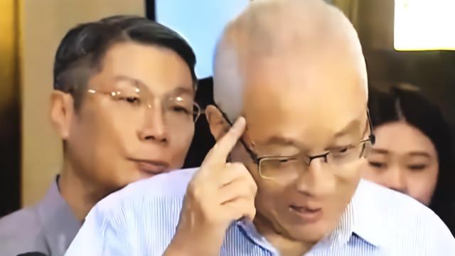 吴敦义谈郭柯王见面:不谈政治很钦佩