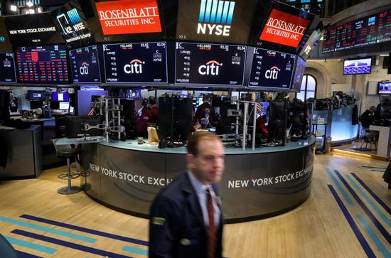 美股三大指数收盘均涨逾1% 原油价格跌1%(图)