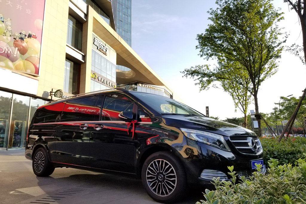 杭州奔驰v260商务房车大量现车优惠图片