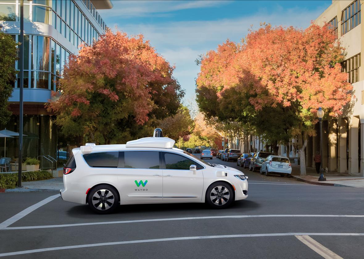 谷歌自动驾驶汽车