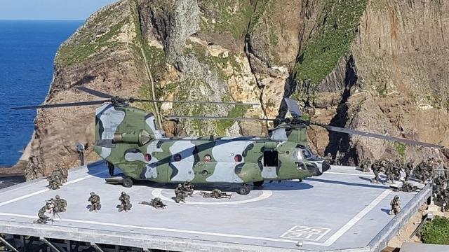 现场!韩国独岛军演兵力翻倍 首次动用这支部队