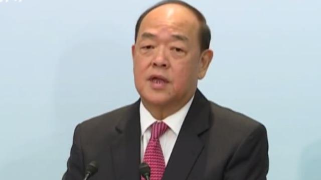 """贺一诚谈香港""""修例风波"""":再大的台风都会过去"""