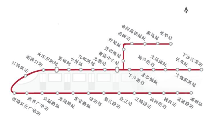 杭州地铁1号线和9号线新盘汇总!留给刚需只有一个名额……