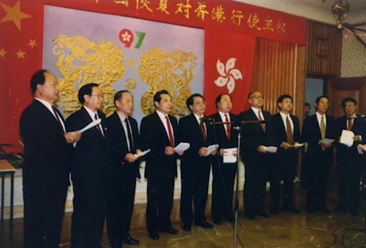 独家 前驻英大使马振岗:香港回归前,中英进行了很多斗争