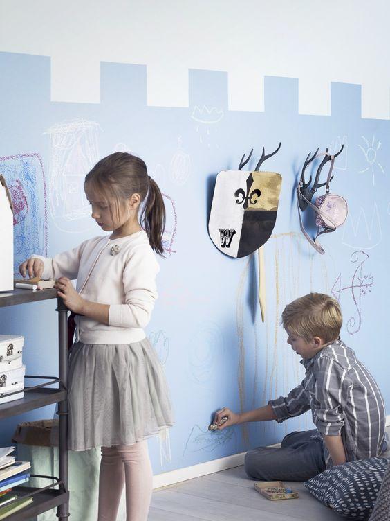 一面黑板墙,治好了孩子的开学恐慌
