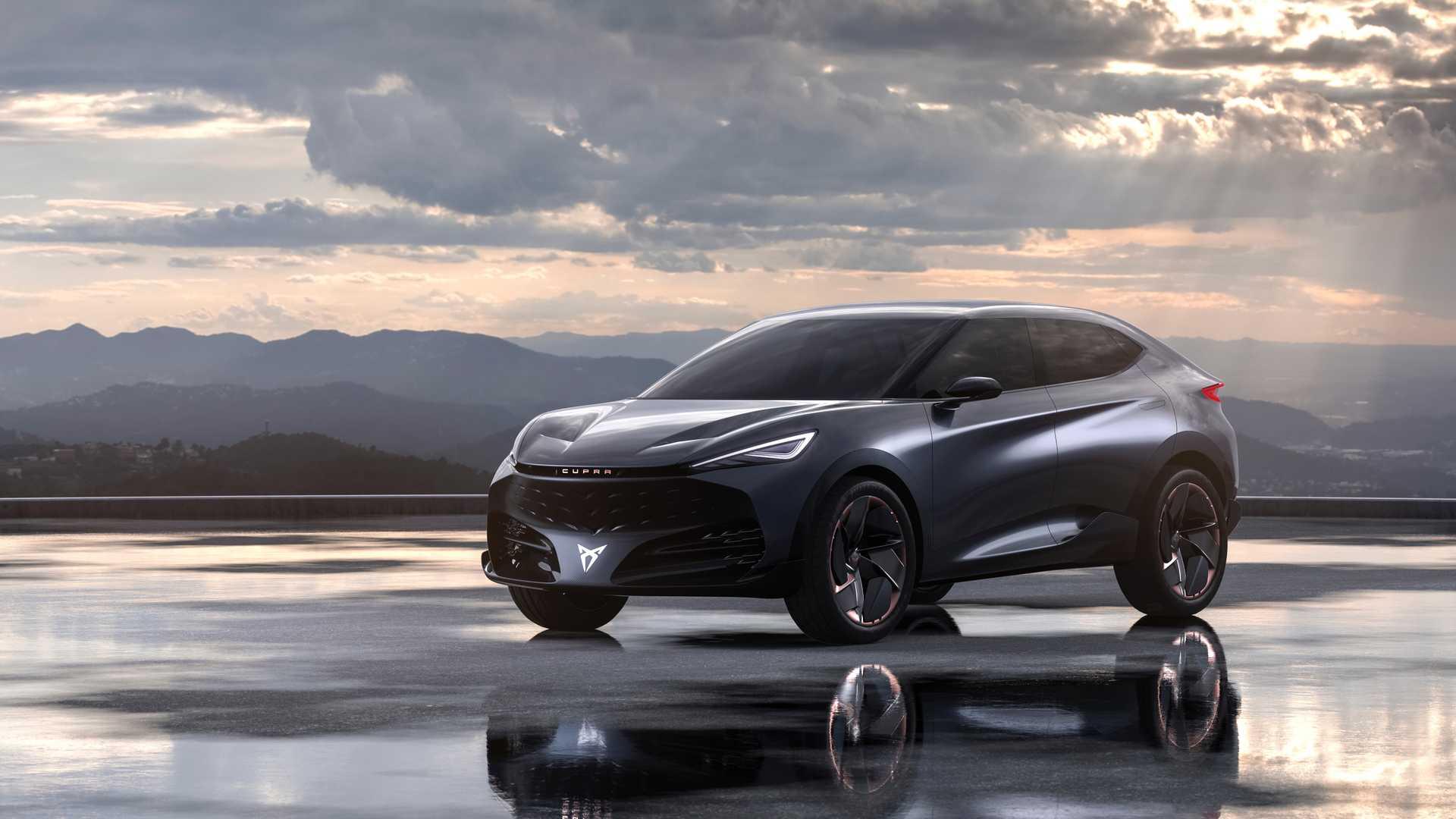 Cupra Tavascan Concept概念车官图发布 法兰克福车展亮相