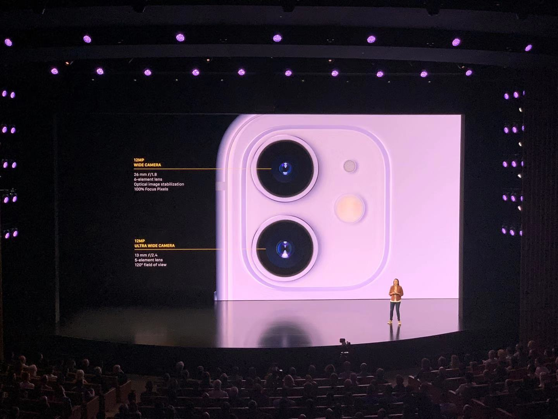 iPhone 11发布:后置双摄+A13处理器,5499元起售