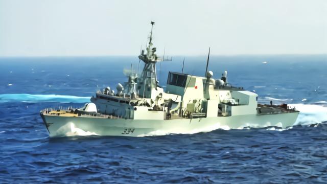 """加拿大军舰穿越台湾海峡 台防务部门声称""""全程掌握"""""""