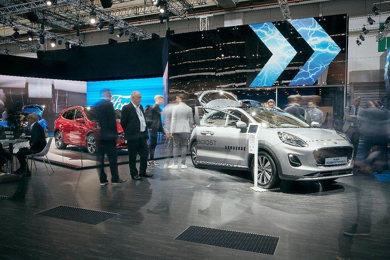 福特欧洲今年将推8款电动车