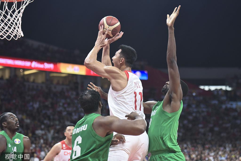 中国男篮无缘直通东京奥运 易建联砍27分难挽败局