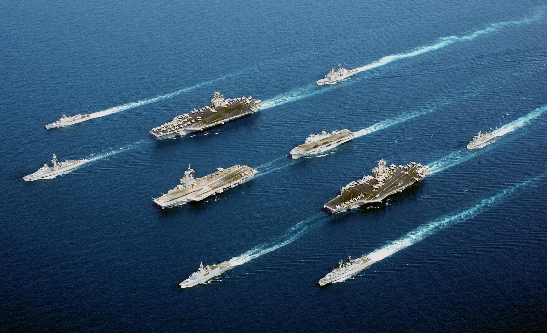 美国正加速新一轮军事转型 扩军备战同时瞄准中俄