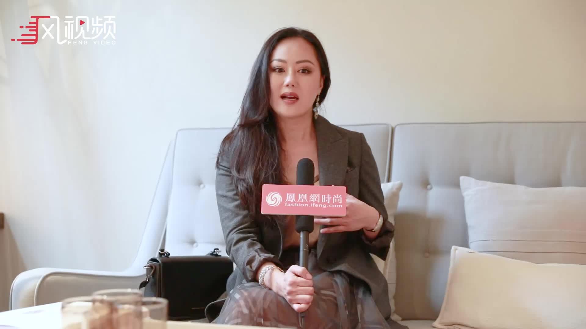 凤凰网时尚专访章小蕙