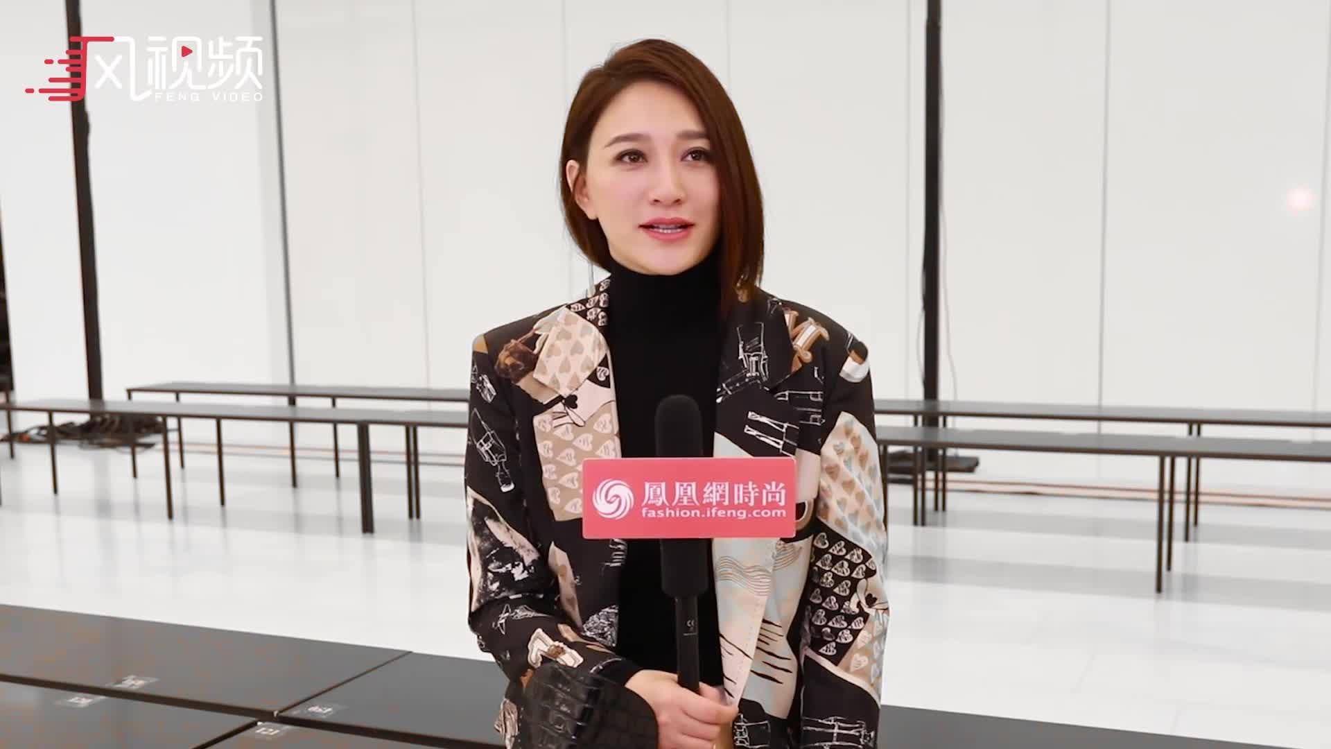 凤凰网时尚专访李小冉