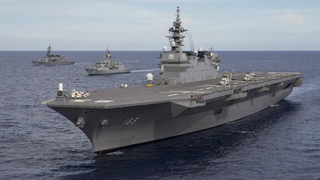 同样搭载F-35战机 日韩新航母有何不同?
