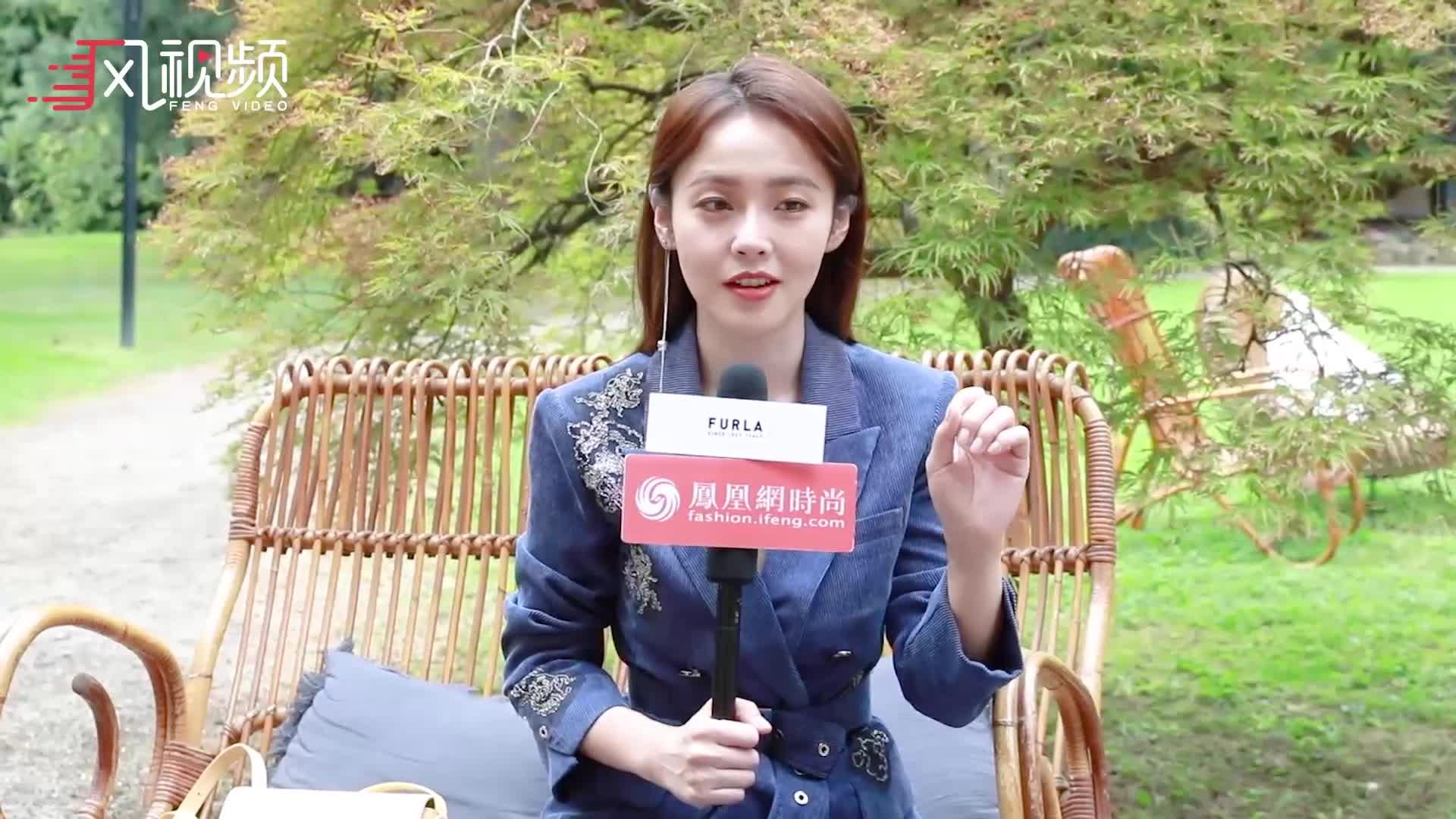 凤凰网时尚专访张佳宁