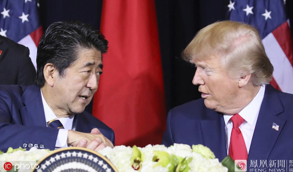 特朗普与安倍签字了!日美达成一项贸易协定