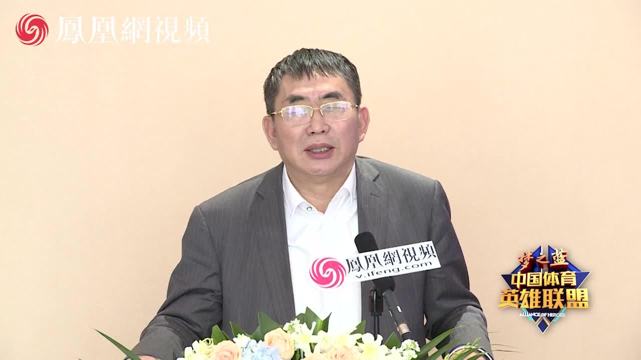中国围棋协会副主席、棋圣聂卫平致辞