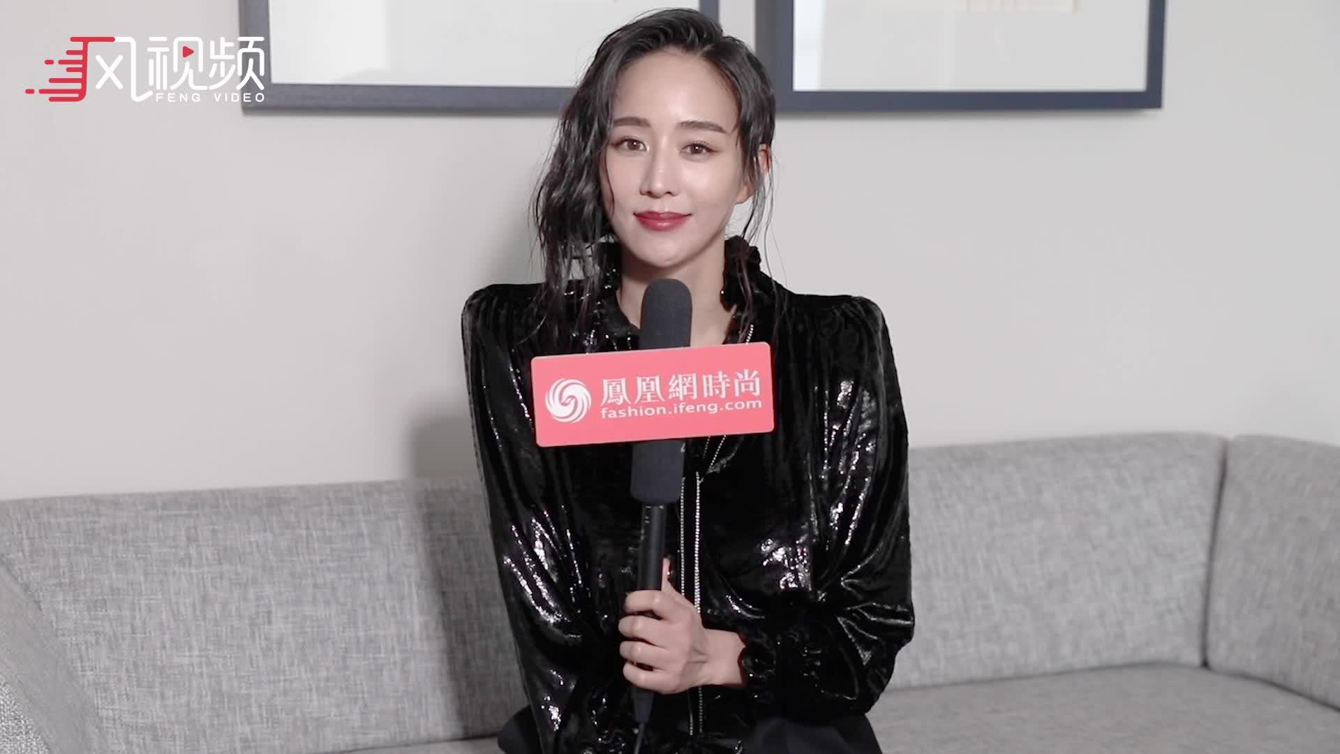 凤凰网时尚专访张钧甯