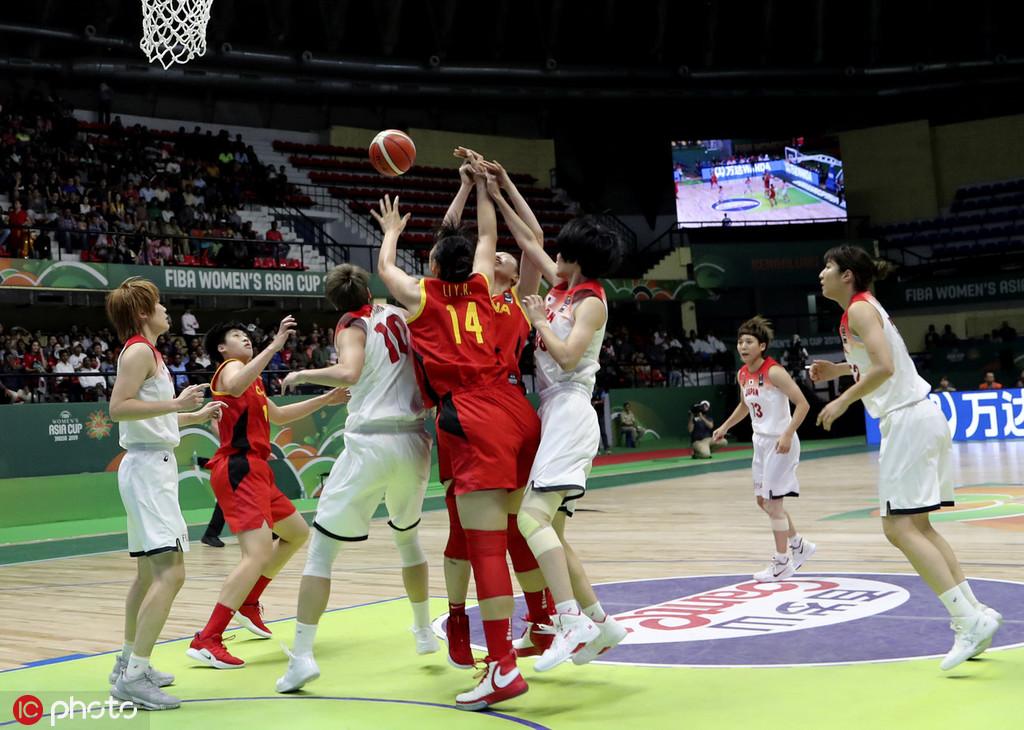 无缘冠军!中国女篮3分惜败 日本亚洲杯四连冠