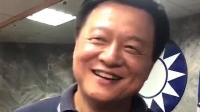 被问想不想做韩国瑜副手 周锡玮放声大笑