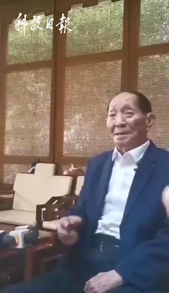 袁隆平谈获得共和国勋章感受:不能躺在功劳簿上睡大觉