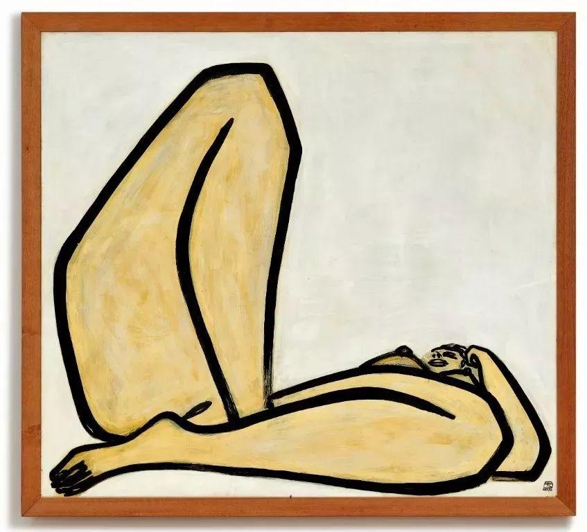 画家常玉《曲腿裸女》拍卖1.98亿港元 刷个人拍卖纪录