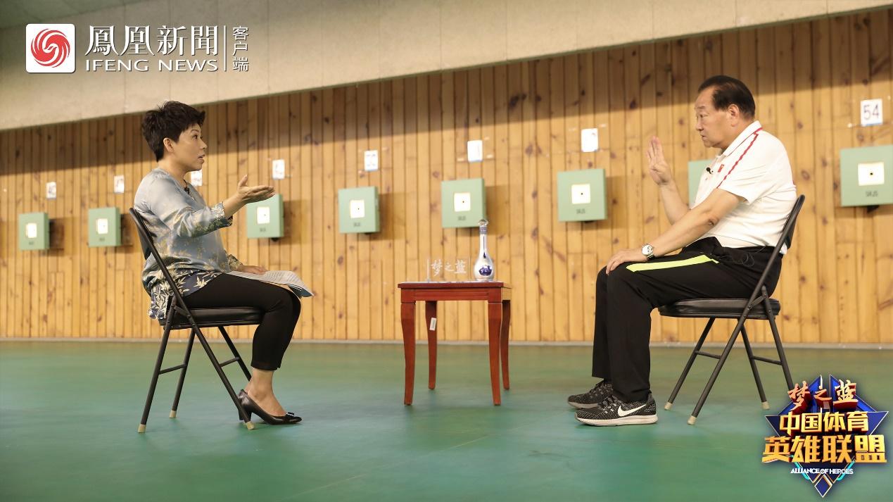 """《中国体育英雄联盟》专访许海峰揭秘中国体育史""""最长的一枪"""""""