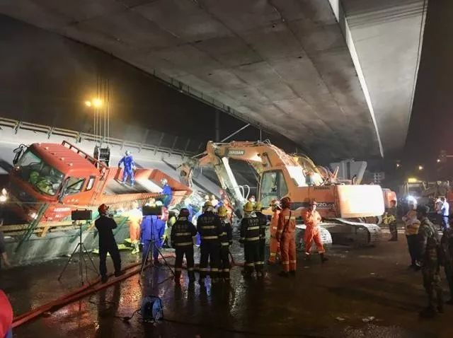江苏无锡高架桥侧翻初步调查原因为超载 设计方或是中设股份