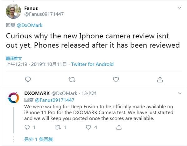 iPhone 11 Pro DxOMark成绩为啥不公布?官方做出回应