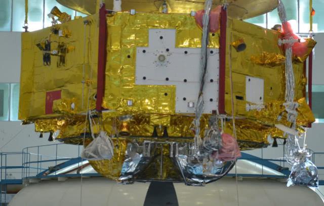 火星探测器局部细节