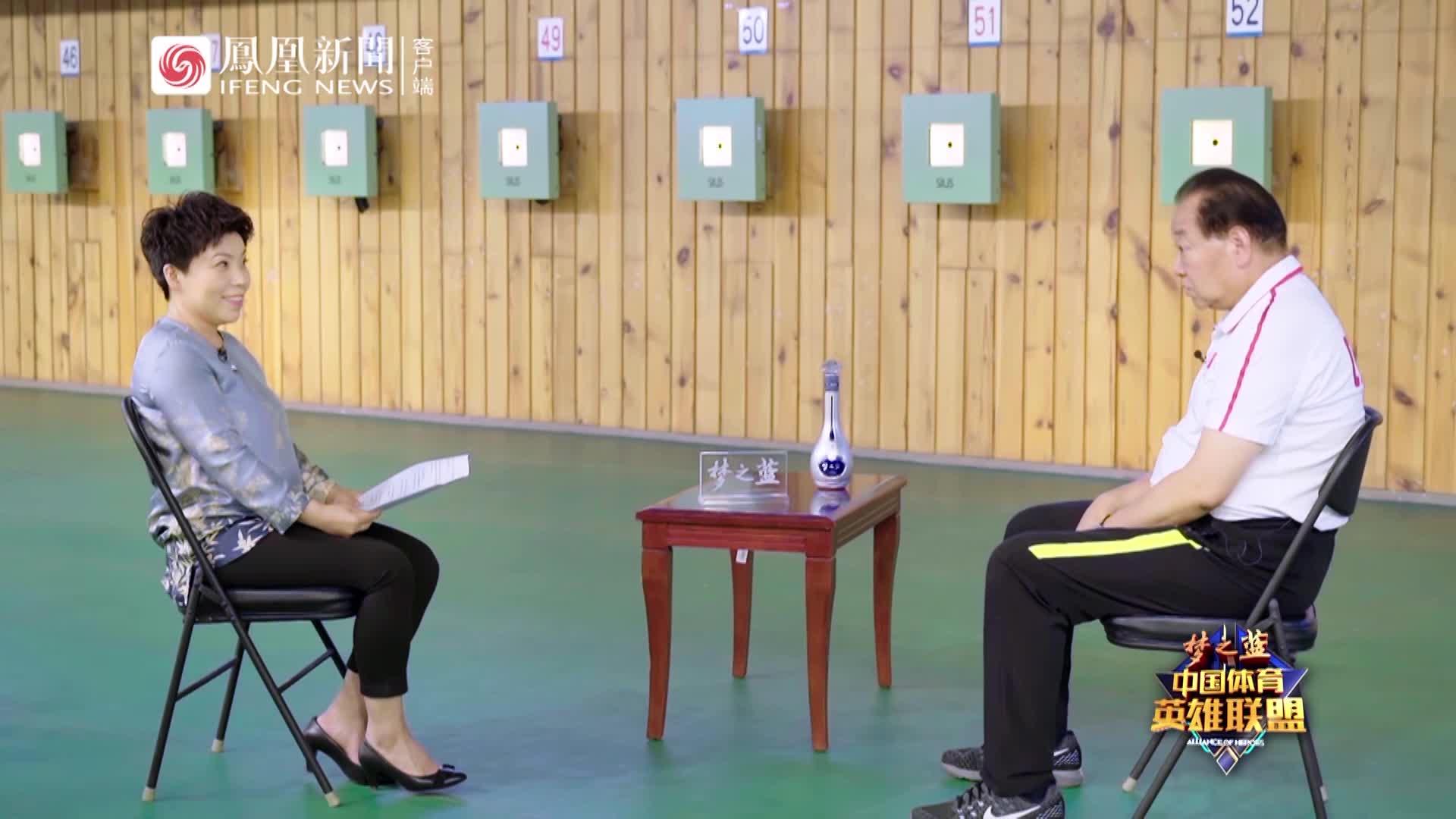 许海峰:性格内向适合射击,我2年拿金牌王义夫13年,谁快?