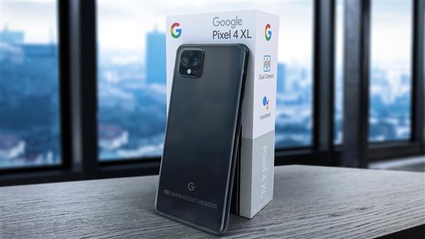 谷歌Pixel 4系列:刘海很宽、后置浴霸摄像头