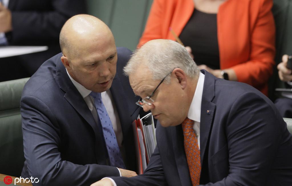 """澳内务部长发表""""最强硬对华言论"""",总理忙灭火"""