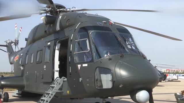 国产高原运输直升机首次亮相!