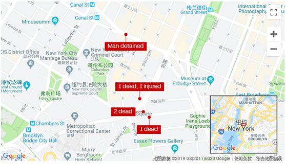 纽约唐人街,4名流浪汉睡梦中被一陌生男子杀害