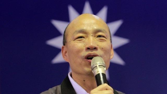 """狂妄自大!韩国瑜:大陆是""""神灯"""" 台湾是""""戒指"""""""