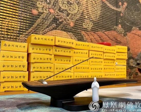 """""""香品香具""""展区(图片来源:凤凰网佛教 摄影:谢远琨)"""