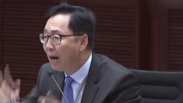全程高能!香港立法会议员陈建波怒怼反对派