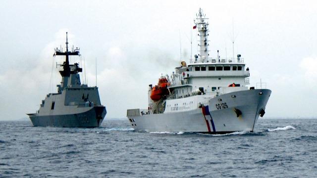 """军事领域""""去中国化""""!台当局不再用大陆地名命名军舰"""