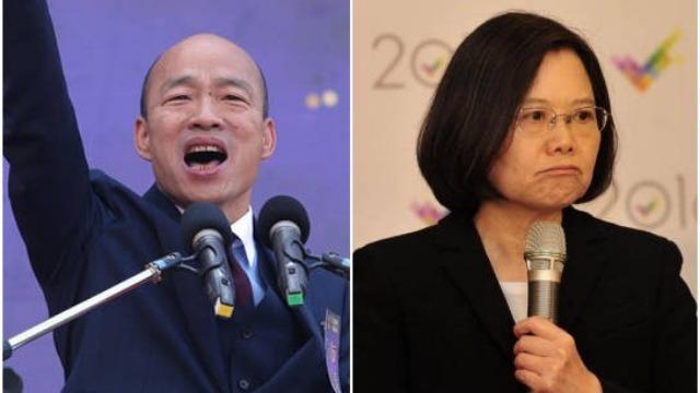 韩国瑜批蔡英文:台湾比缺电更严重的是缺德