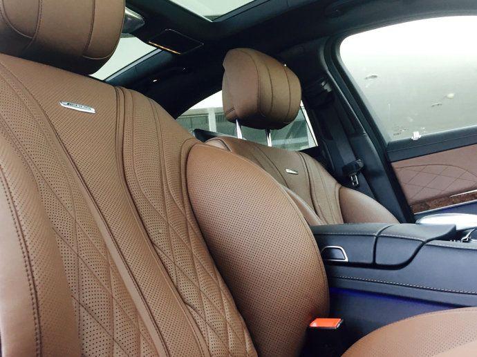 2018新款AMG奔驰S65奔驰4S店实车照片配置参数