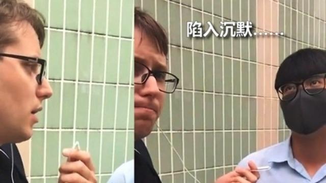 """美国人问懵香港青年:你知道希特勒是""""民主""""选出的吗?"""