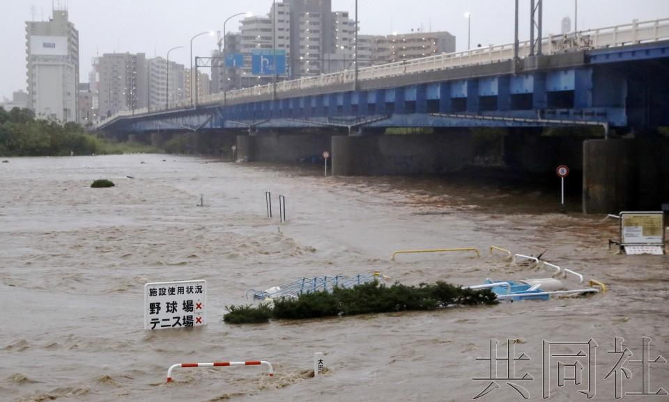 台風 東京 浸水