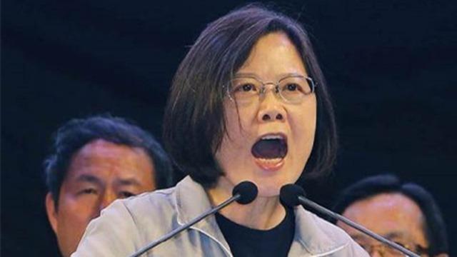 国民党用八个字批蔡当局