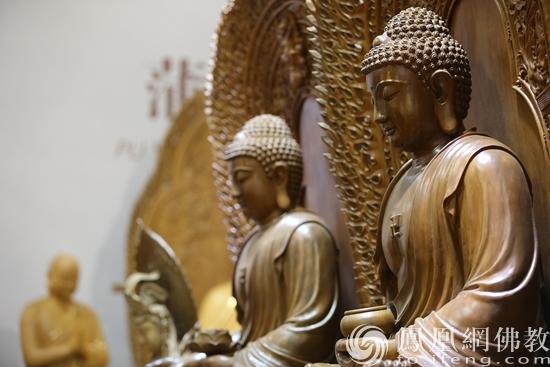 精美佛像:技法精湛,设计前沿(图片来源:凤凰网佛教 摄影:谢远琨)