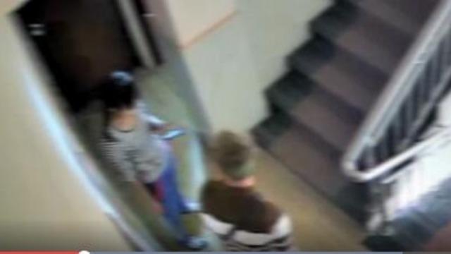 男子欲强奸女服务员 监控拍下愤怒一幕