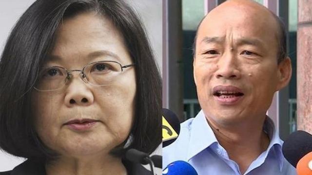 台湾舆论:韩国瑜是一只鸡 蔡英文也是一只鸡