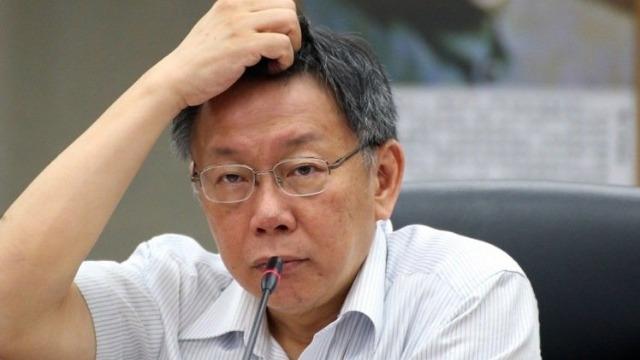 蔡当局拒让香港杀人嫌犯来台 柯文哲:是不是疯了?